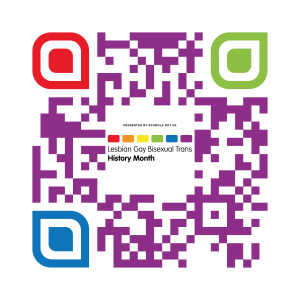 QR code for donating